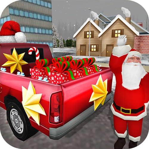 Santa estupendo regalo de entrega Juego: Unidad en la Navidad