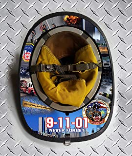 Fire Helmet Wraps 9-11 Never Forget Memorial (Cairns 1044)