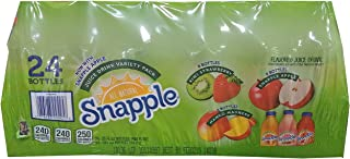 Snapple Variety Pack Juice, 480 Fluid Ounce