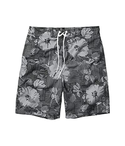 Speedo Garden Wave Bondi Boardshorts 20 (Black/Grey) Men