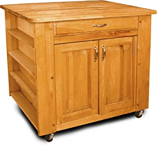 Catskill Craftsmen Deep Storage Island with Rectangle Top
