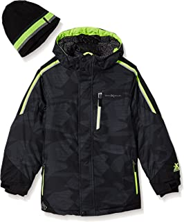 ZeroXposur Little Boys Hucker Boys Two-Piece Snowsuit Set Cool Rain 7//Large ZeroXposur Boys 2-7 Outerwear