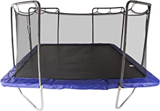 Skywalker Trampolines 15-Foot Square Trampoline with Enclosure Net – Added Safety Features – Meets or Exceeds ASTM – Made to Last – Extra Jumping Space