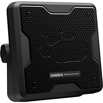 Uniden (BC20) Bearcat 20-Watt External Communications Speaker. Durable Rugged Design, Perfect for Amplifying Uniden Scanners, CB Radios, and Other Communications Receivers