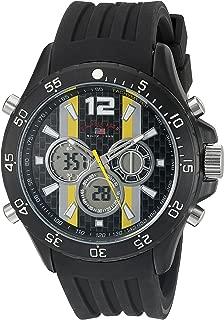 U.S. Polo Assn. Sport Men's US9524 Analog-Digital Display Analog Quartz Black Watch