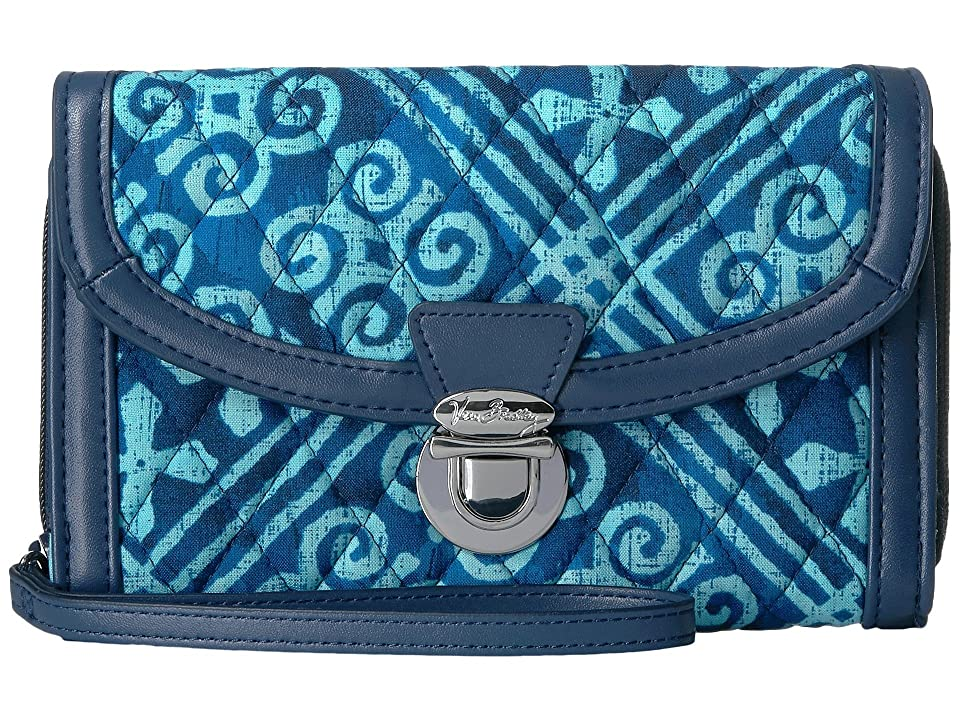 Vera Bradley Ultimate Wristlet (Cuban Tiles) Wristlet Handbags