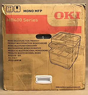 OKI Data MB472W 35ppm Wireless Monochrome Laser Printer with Scanner, Copier and Fax (62444801)