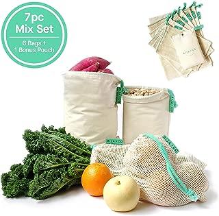 Best cotton produce bags canada Reviews