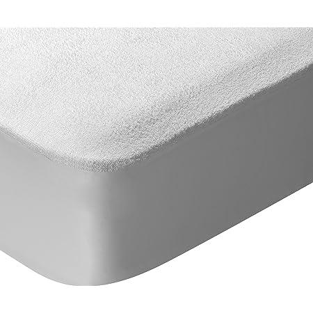 Pikolin Home - Protector de colchón para cuna de rizo, 100% algodón, impermeable y transpirable, 70x140cm-Cuna (Todas las medidas)