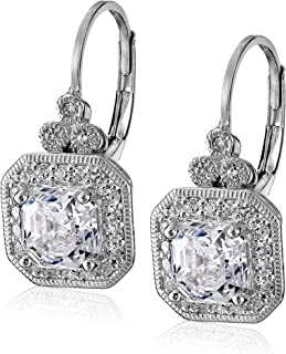 Platinum or Gold-Plated Sterling Silver Swarovski...
