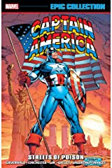 Captain America Epic Collection: Streets of Poison (Captain America (1968-1996)) Kindle Edition