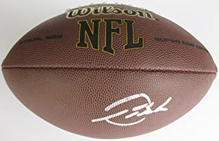 Devontae Booker, Denver Broncos, Utah, Signed, Autographed, NFL Football, a Coa with the Proof Photo of Devontae Signing Will Be Included with the Football