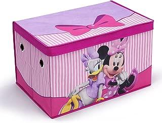 Delta Children Fabric Toy Box, Disney Minnie Mouse