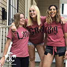 Harry Potter Big, Little, GBig, GGBig Sorority Family Comfort Colors Short Sleeve Shirt