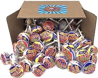 CrazyOutlet Pack - Smarties Mega Lollipops Candy, Original Lollies, Fat Free, Gluten Free, Peanut Free Hard Candy, Bulk Pack, 30 Count, 2.2 Lbs