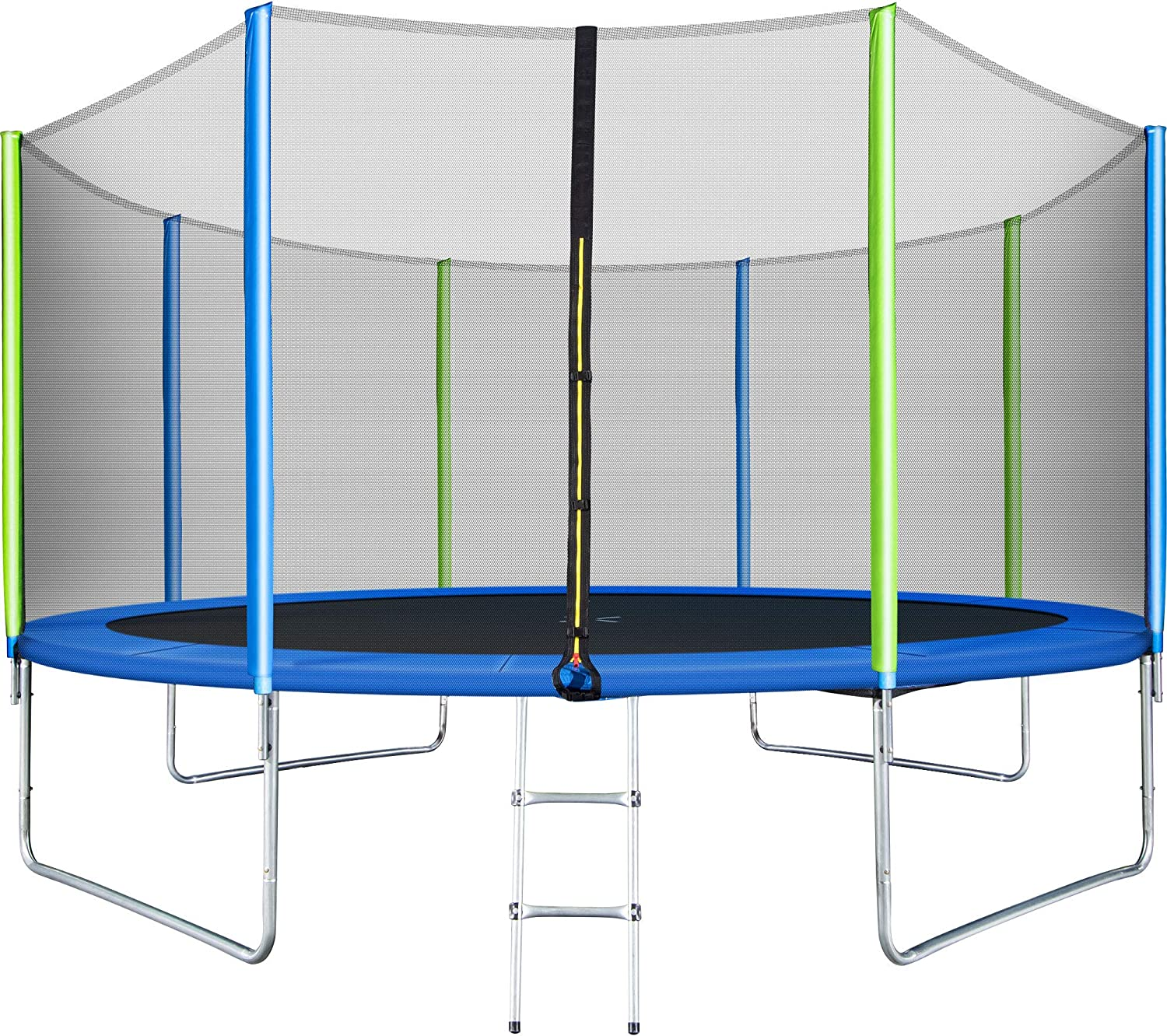 WISHWILL 12FT Now free shipping Nashville-Davidson Mall 14FT 16FT Approved Outdoor 𝕋rampoline ASTM