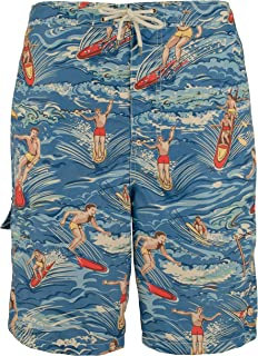 85d49e275c Polo Ralph Lauren Men's Big and Tall Kailua Surf Swim Trunks (Hawaiian  Surfer)
