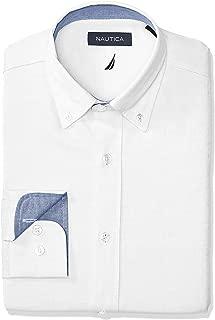 Men's Classic Fit Button Down Collar Oxford Dress Shirt