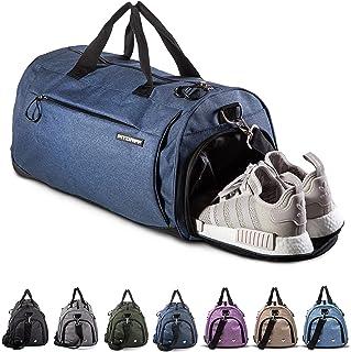 Fitgriff® Borsone Palestra - Donna & Uomo - Borsa Sportiva - per Palestra, Fitness, Sport, Viaggio, Gym - Duffel Bag (Navy...