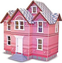 Melissa & Doug Classic Heirloom Victorian Wooden Dollhouse, Great Gift for Girls and Boys - Best for 6, 7, 8 Year Olds and Up