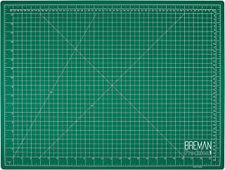 Breman Precision Self Healing Cutting Mat I Sewing Craft Quilting Fabric Rotary Cutting Mat for Crafters Hobbyists Artists I 2 Sided 5 Ply PVC Craft Mat with Grid Lines I A2 18x24 in