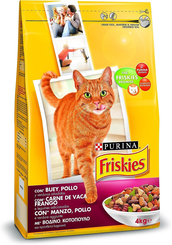 pienso para gatos friskies de Purina