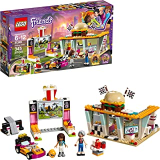 LEGO Friends Drifting Diner 41349 Race Car and Go-Kart...