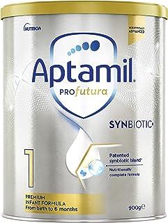 Aptamil Profutura 1 Premium Baby Infant Formula from Birth to 6 Months, 900 g