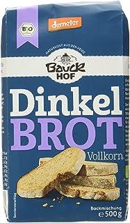 Bauckhof Dinkelbrot Vollkorn Demeter, 6er Pack 6 x 500 g
