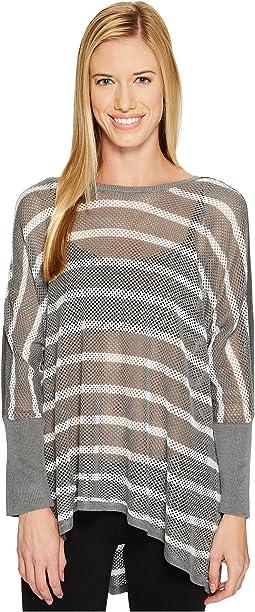 Stripe Drape Sweater