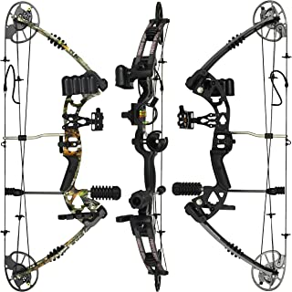 "RAPTOR Compound Hunting Bow Kit: LIMBS MADE IN USA | Fully adjustable 24.5-31"" Draw.."