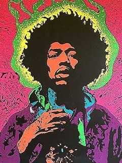 Jimi Hendrix Wall Print Jimi Hendrix Poster Jimi Hendrix Wall Art Jimi Hendrix Home Decor Watercolor Print