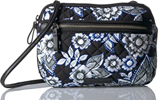 Iconic RFID Little Crossbody, Signature Cotton