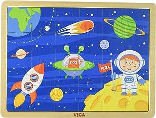Viga Puzzle: Space Travel 24 Piece, White