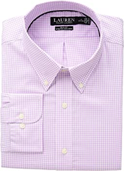 Slim Fit No-Iron Gingham Dress Shirt