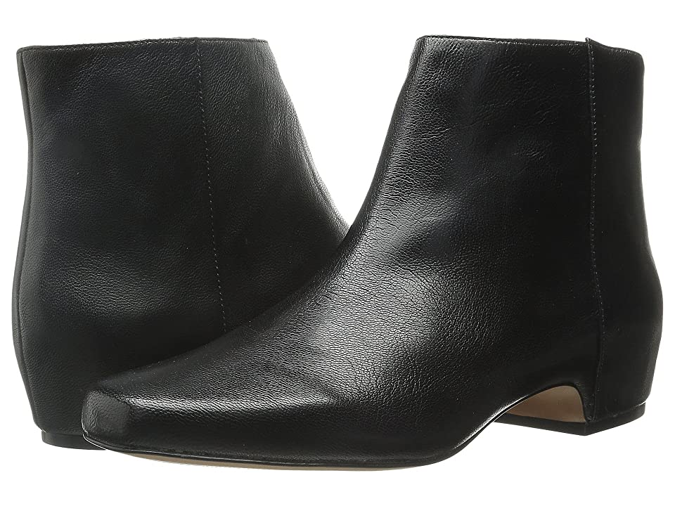 Nine West Hugginsi (Black Leather) Women