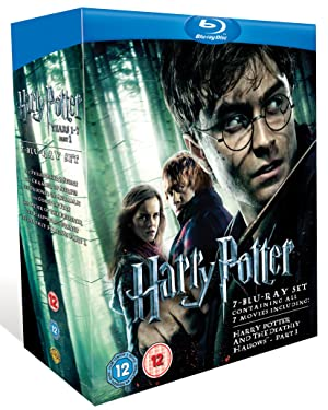 Harry Potter Collection - Years 1-7 Part 1 [Blu-ray][Region Free]