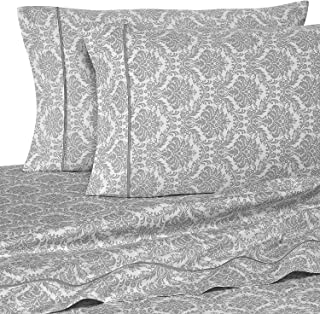 Rajlinen Twin Size Sheet SET-100% Cotton- 400 Thread Count- 15