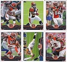 Cincinnati Bengals 2013 Topps NFL Football Complete Regular Issue 18 Card Team Set Including Andy Dalton, Giovani Bernard Rookie, A J Green Plus