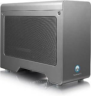 AKiTiO Node Pro Thunderbolt 3対応 PCI Express 外付け拡張ボックス(Windows/Mac両対応/アミュレットオリジナルマニュアル付き)