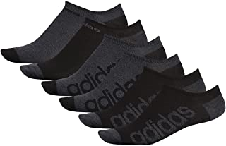 adidas mens Superlite Linear No Show Socks (6-pair)