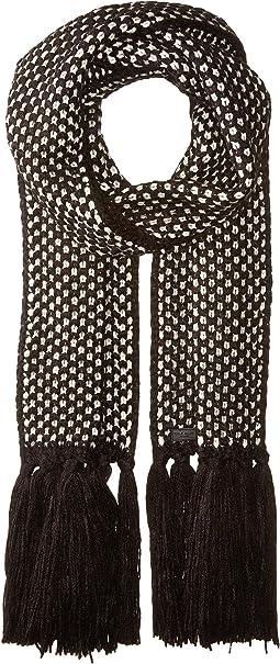 Cole Haan - Chessboard Tuck Stitch Muffler