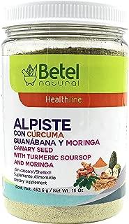 Leche de Alpiste with Curcuma, Guanabana, and Moringa - No Silica - Betel Natural