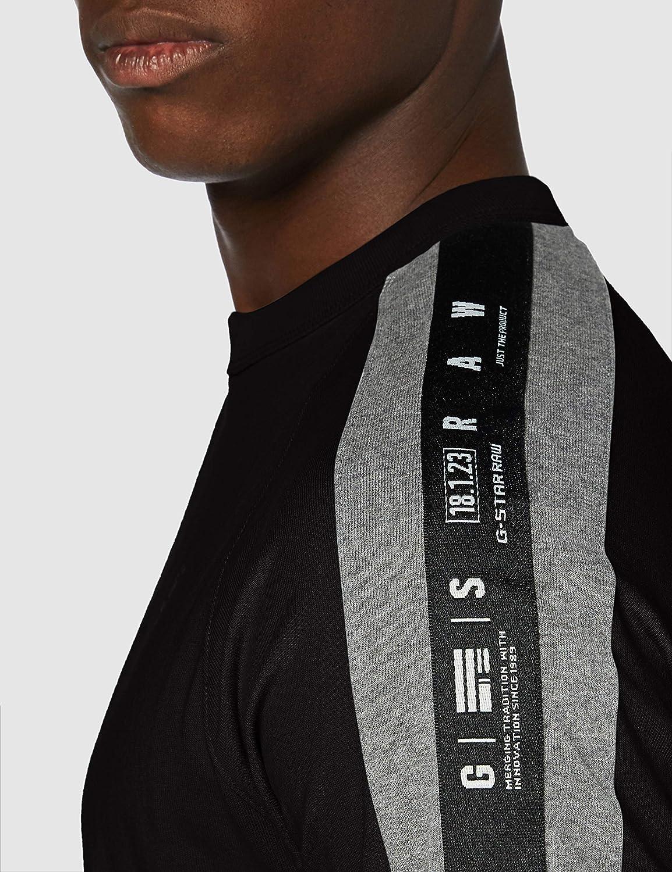 G-STAR RAW Sport Tape Logo Camiseta para Hombre