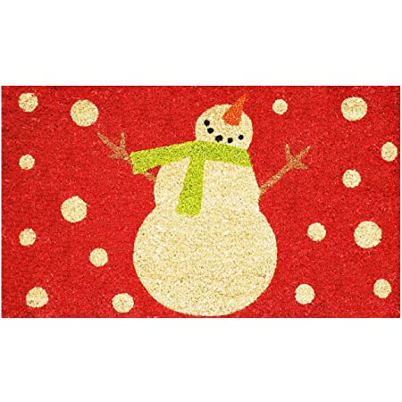 Calloway Mills 121041729R Holiday Snowman Doormat