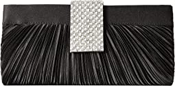 Jessica McClintock - Alaina Pleated Satin Clutch