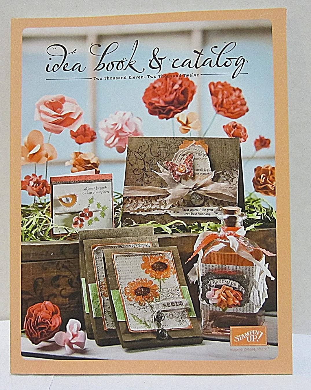 Stampin Up Idea Book & Catalog 2011-2012 New Condition 241 Pages supplier_mycollegefund2017