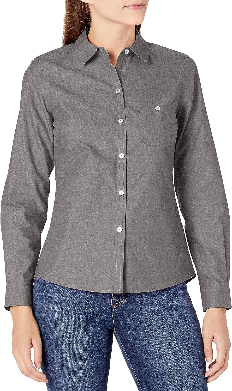 Foxcroft Women's Hampton Non-Iron Pinpoint Shirt