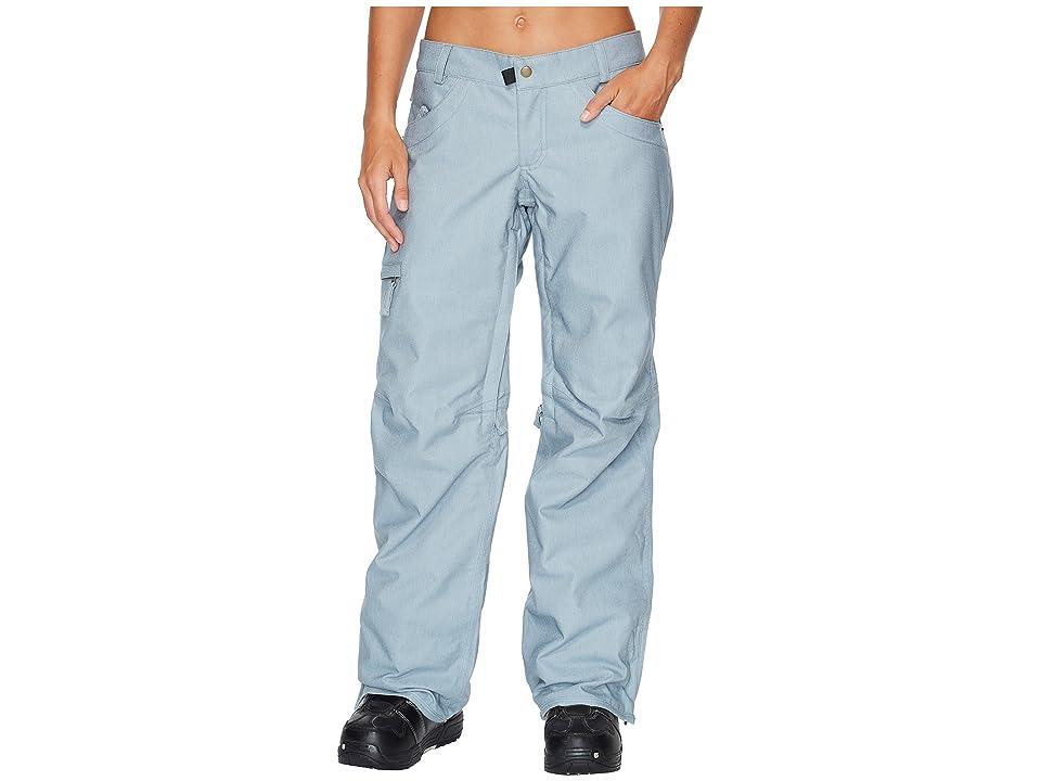 Image of 686 Patron Insulated Pants (Light Blue Denim) Women's Casual Pants
