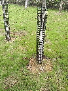 V Protek Rigid Plastic Mesh Tree Bark Protector with Zip Tie 1x4.6ft Tree Protector Prevent Deer Rabbit Cat